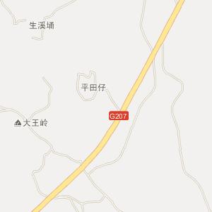 廉江市良垌镇电子地图