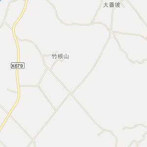 廉江吉水电子地图_吉水道路地图