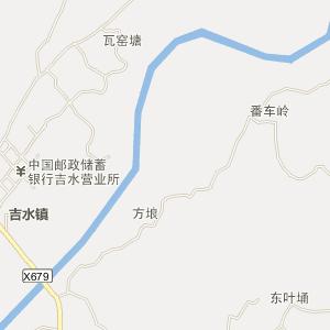 廉江市吉水镇电子地图