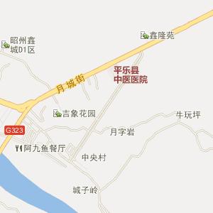 广西电子地图 桂林电子地图