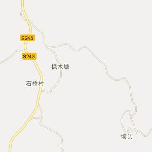 湖南电子地图