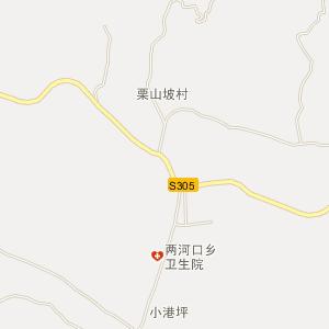 桑植两河口电子地图_中国电子地图网
