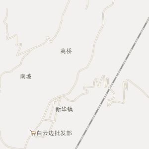 黔南电网地理接线图