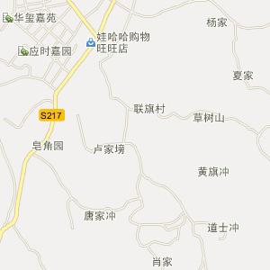 地图 /邵阳-邵阳县五峰铺镇七里园艺场-地图