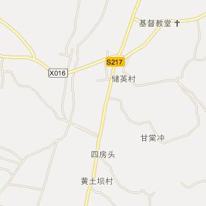 邵阳县下花桥镇在线电子地图查询