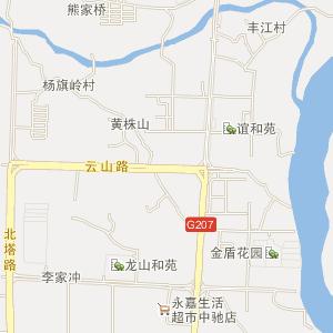 邵阳市北塔区电子地图