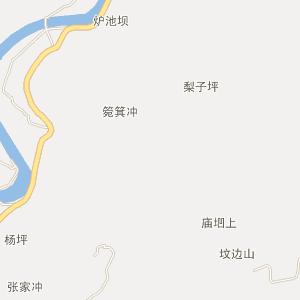湖南省安化县卫星地图