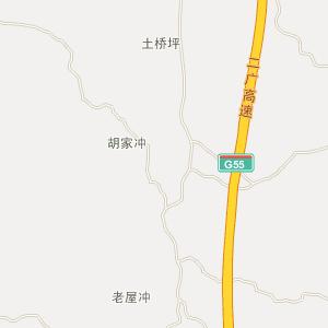 湖南电子地图 常德电子地图