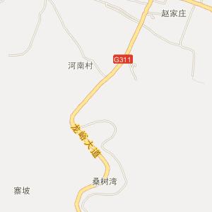 庙子乡地图_栾川县庙子乡三维电子地图和邮编