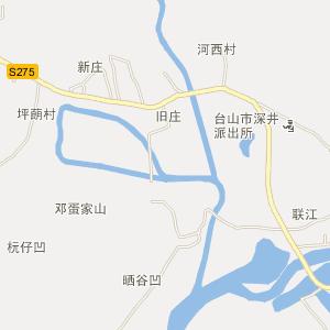 台山深井电子地图_中国电子地图网