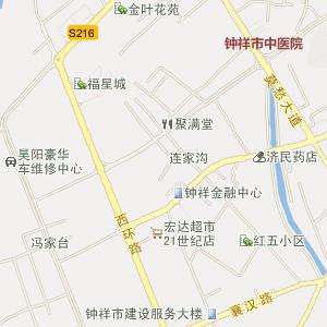 湖北省电子地图 荆门市电子地图