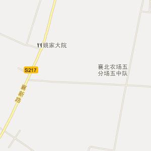 襄阳区古驿镇电子地图