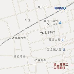 平顶山鲁山电子地图_鲁山铁路