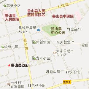 平顶山宝丰县地图