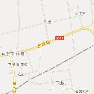 平顶山鲁山电子地图_中国电子
