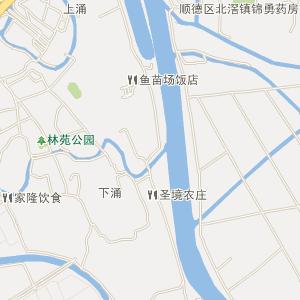 顺德区北滘镇电子地图