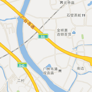 顺德区陈村镇电子地图