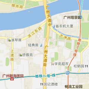 广东省电子地图 广州市电子地图 越秀区电子地图 白云街道电子地图