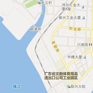 广州萝岗电子地图
