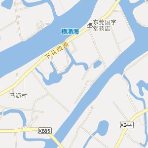 凤岗地图 长安地图 虎门地图