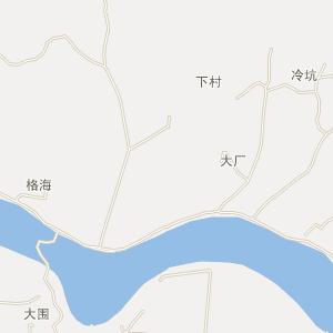 佛冈县龙山镇电子地图查询