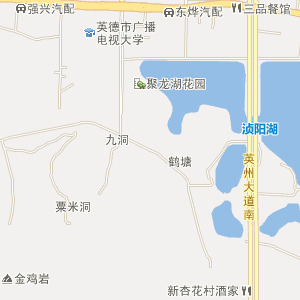 广东电子地图 清远电子地图