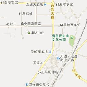 与市外邻近的著名风景名胜旅游点炎帝陵,井冈山,南岳,桂林等容易连线