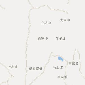 长沙县-果园镇卫星地图