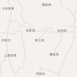 湖北省电子地图 孝感市电子地图