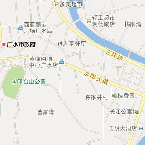 广水应山电子地图_中国电子地图网图片