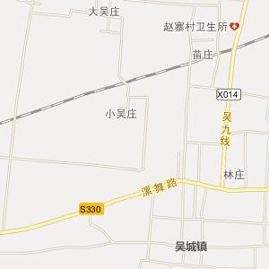河南省电子地图 漯河市电子地图