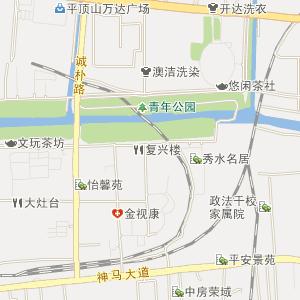 河南省平顶山市电子地图