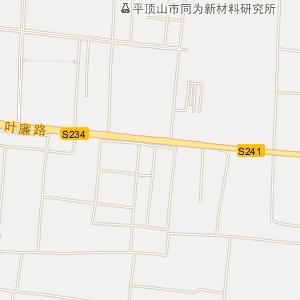 平顶山叶县电子地图_中国电子