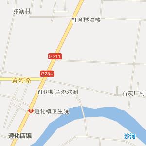 叶县遵化店电子地图_中国电子地图网