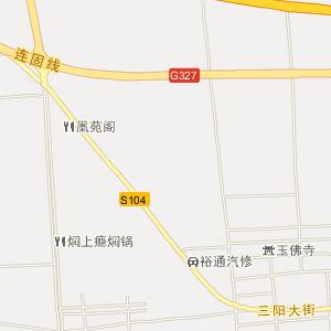 河南省电子地图 焦作市电子地图