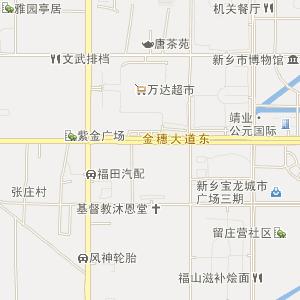 济南市和平路街道行政地图