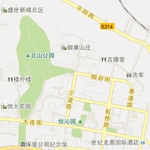 3d地图河北省秦皇岛市