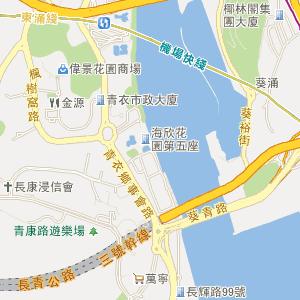 香港葵青电子地图_中国电子地图网