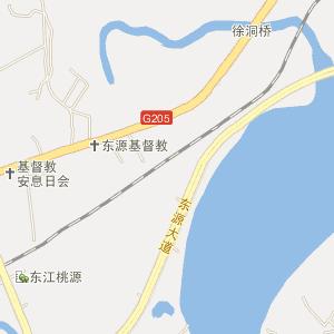 河源市东源县电子地图