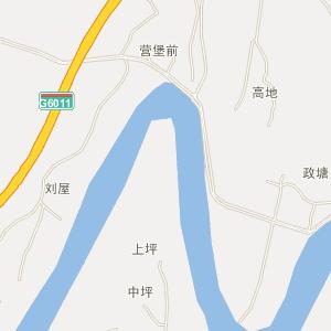南雄全安电子地图