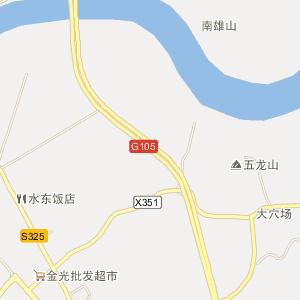 赣州信丰电子地图_中国电子地图网