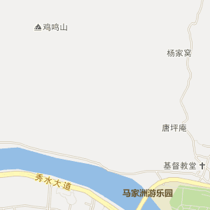 九江市修水县电子地图