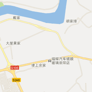 湖北省电子地图 咸宁市电子地图