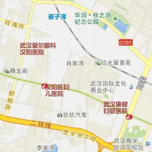湖北省电子地图 武汉市电子地图