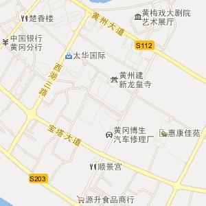 鄂州竹林广场地图