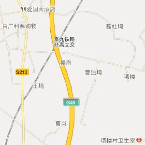 光山槐店电子地图_中国电子地图网图片