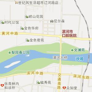 河南省漯河市电子地图
