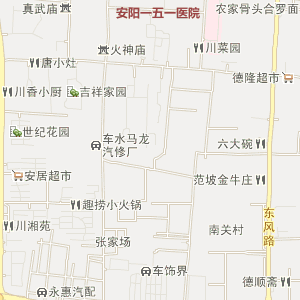 光华路电子地图 永明路电子地图