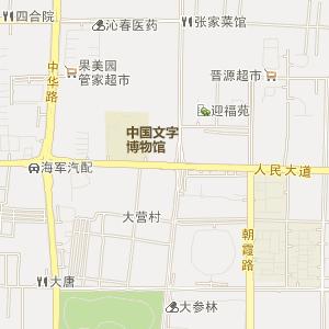 -旅游风景区地图