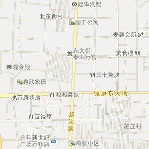 邯郸市永年县电子地图